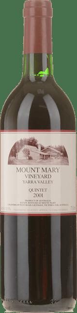 MOUNT MARY Quintet Cabernet Blend, Yarra Valley 2001