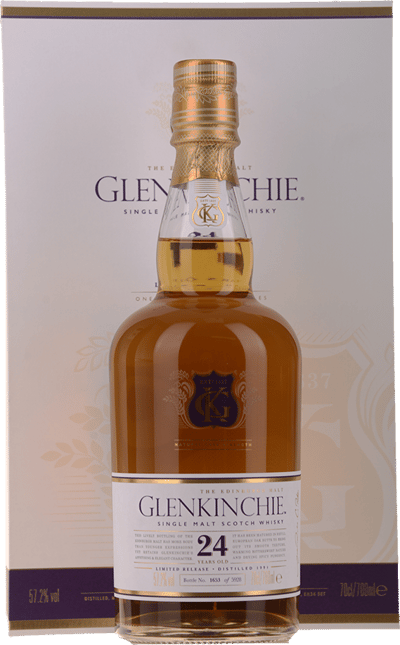GLENKINCHIE Limited Edition 1991 24 Year Old Scotch Whisky 57.2% ABV, The Lowlands NV