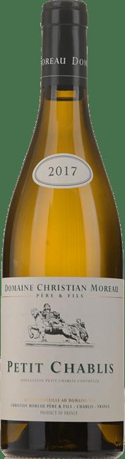 DOMAINE CHRISTIAN MOREAU, Petit Chablis 2017