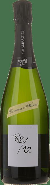 VAZART-COQUART & FILS 82/12 Blanc de Blancs, Champagne NV