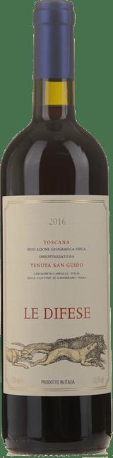 TENUTA SAN GUIDO Le Difese, Toscana 2016