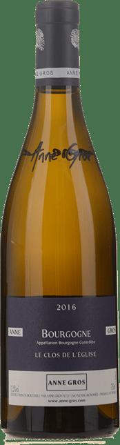 DOMAINE ANNE GROS Anne Gros Bourgogne Blanc 'Clos de l'Eglise', Bourgogne Blanc 2016