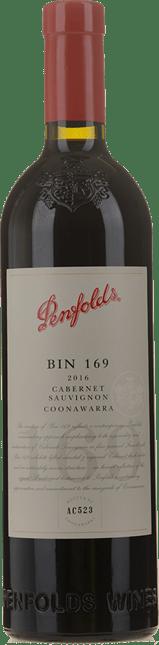 PENFOLDS Bin 169 Cabernet Sauvignon, Coonawarra 2016