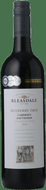 BLEASDALE VINEYARD Mulberry Tree Cabernet Sauvignon, Langhorne Creek 2016