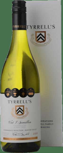 TYRRELL'S Winemakers Selection Vat 1 Semillon, Hunter Valley 2009