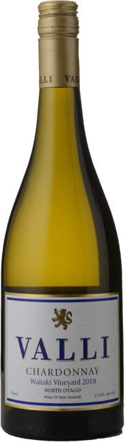 VALLI Waitaki Vineyard Chardonnay, North Otago 2018