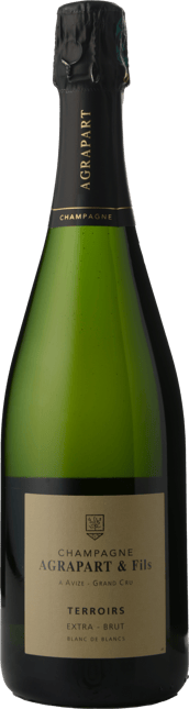 AGRAPART & FILS Terroirs Blanc de Blancs Extra-Brut, Champagne NV