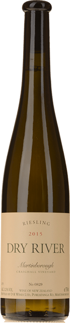 DRY RIVER Craighall Riesling, Martinborough 2015