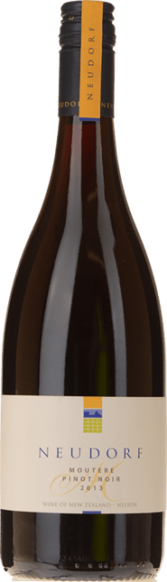 NEUDORF VINEYARDS Moutere Pinot Noir, Nelson 2013