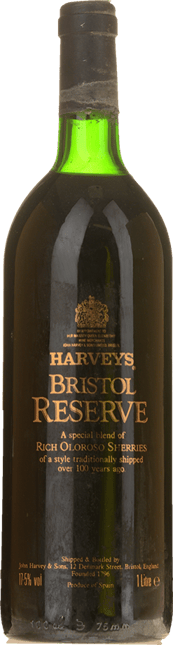 HARVEY'S Bristol Reserve Oloroso, Jerez-Xeres-Sherry NV