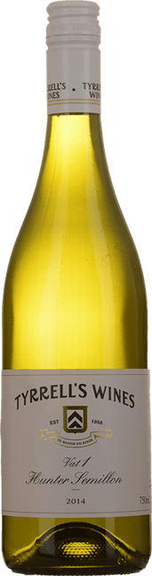 TYRRELL'S Vat 1 Semillon, Hunter Valley 2014
