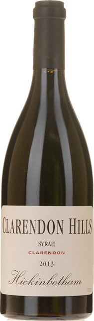 CLARENDON HILLS Hickinbotham Vineyard Syrah, McLaren Vale 2013