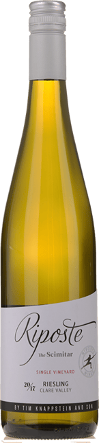 RIPOSTE BY TIM KNAPPSTEIN The Scimitar Riesling, Clare Valley 2017