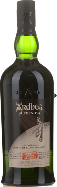 ARDBEG Supernova The Ultimate SN2014 Committee Release Single Malt Scotch Whisky 55% ABV, Islay NV