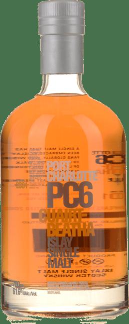 BRUICHLADDICH Port Charlotte PC6 Cuairt-Beatha Single Malt 61.6% ABV, Islay 2001