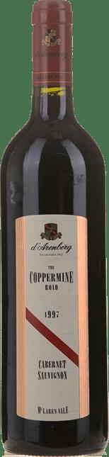 D'ARENBERG WINES The Coppermine Road Cabernet Sauvignon, McLaren Vale 1997