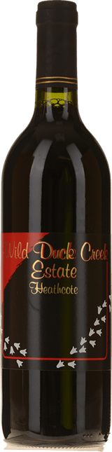 WILD DUCK CREEK ESTATE Duck Muck Shiraz, Heathcote 2004