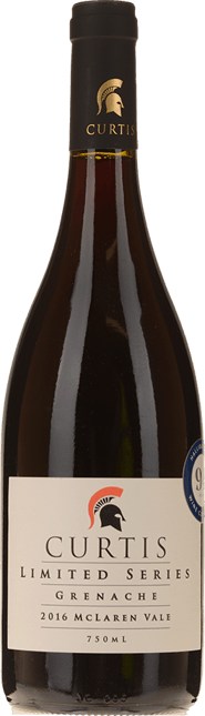 CURTIS FAMILY VINEYARDS Limited Series Grenache, McLaren Vale 2016