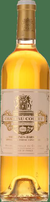 CHATEAU COUTET 1er cru classe, Sauternes-Barsac 2002