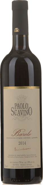 PAOLO SCAVINO, Barolo DOCG 2014