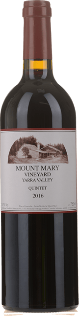 MOUNT MARY Quintet Cabernet Blend, Yarra Valley 2016