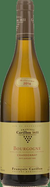 DOMAINE FRANCOIS CARILLON, Bourgogne Blanc 2016