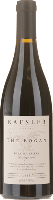 KAESLER WINES The Bogan Shiraz, Barossa Valley 2016