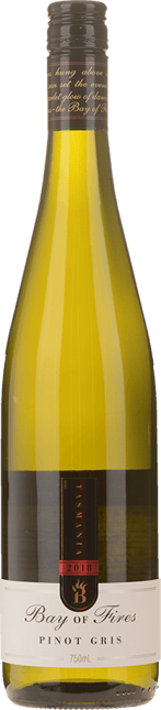BAY OF FIRES Pinot Gris, Derwent Valley, Coal River Valley Tasmania 2018