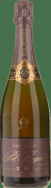POL ROGER Brut Rose, Champagne 2009