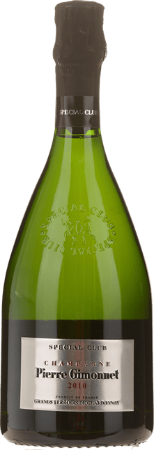 PIERRE GIMONNET & FILS, Special Club Grands Terroirs de Chardonnay, Champagne 2010