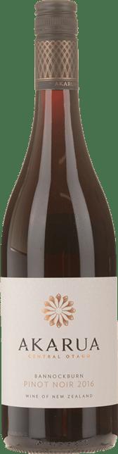AKARUA Bannockburn Pinot Noir, Central Otago 2016
