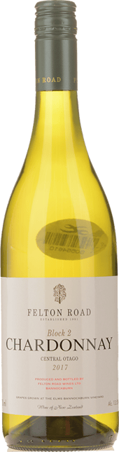 FELTON ROAD Block 2 Chardonnay, Central Otago 2017