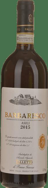 BRUNO GIACOSA Azienda Agricola Falletto Asili Di Barbaresco, Barbaresco 2015
