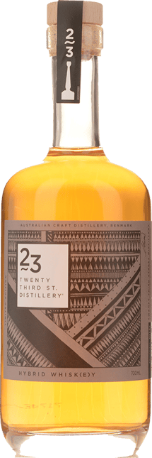TWENTY THIRD ST DISTILLERY Hybrid Whisk(e)y 42.3% ABV  NV