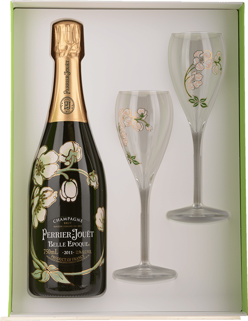 PERRIER-JOUET Belle Epoque Gift Pack, Champagne 2011