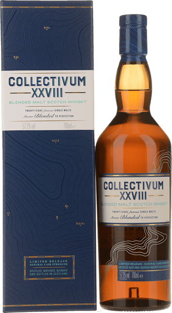 COLLECTIVUM XXVIII Scotch Whisky 57.3% ABV, Scotland NV