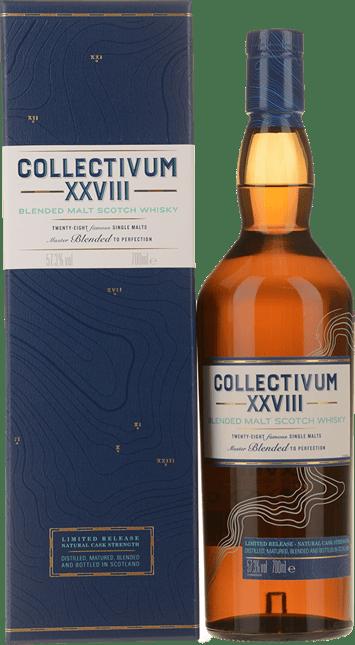 COLLECTIVUM XXVIII Scotch Whisky 57.3% ABV, Scotland NV