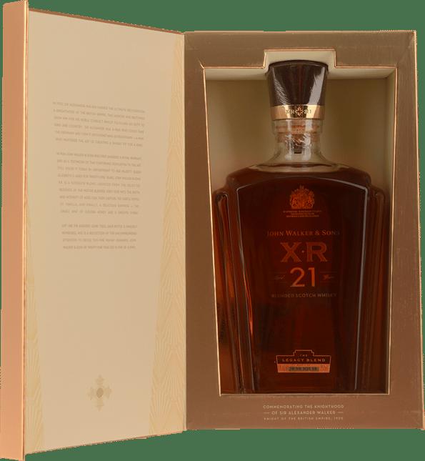 JOHNNIE WALKER XR 21 Year Old Scotch Whisky 40% ABV, Scotland NV