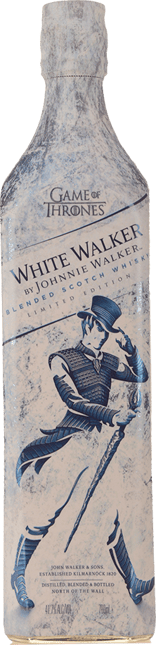 JOHNNIE WALKER White Walker Limited Edition Scotch Whisky 41.7% ABV, Scotland NV