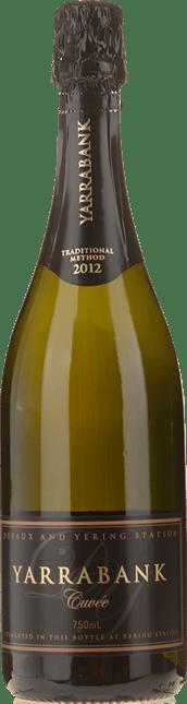 YARRABANK Traditional Method Brut Cuvee Chardonnay Pinot Noir Pinot Meunier, Yarra Valley 2012
