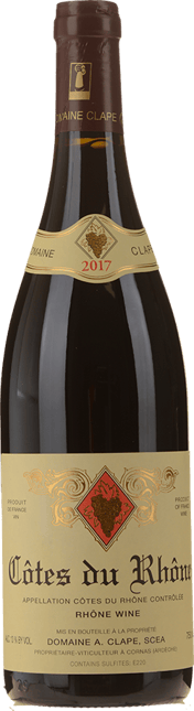 DOMAINE CLAPE, Cotes-du-Rhone 2017