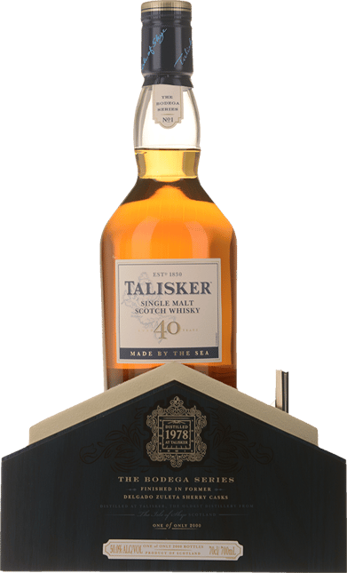 TALISKER Bodega 40 Year Old 1978 Whisky 50% ABV, Scotland NV