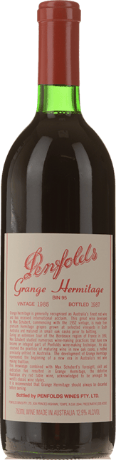 PENFOLDS Bin 95 Grange Shiraz, South Australia 1985