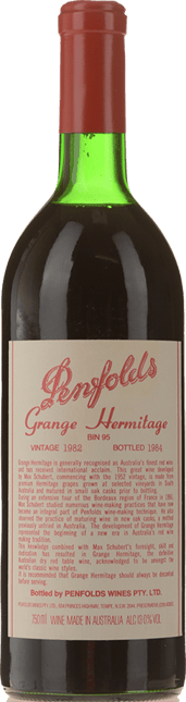 PENFOLDS Bin 95 Grange Shiraz, South Australia 1982