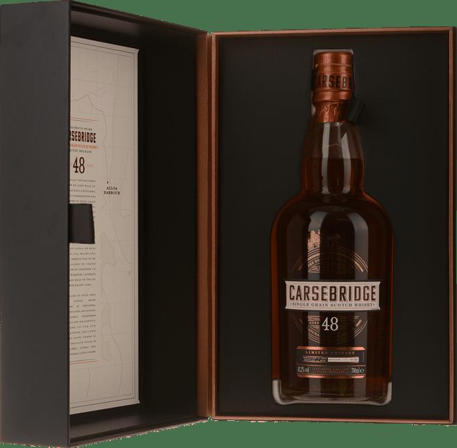 CARSEBRIDGE 48 Year Old Scotch Whiskey 43.2% ABV, The Lowlands 1970