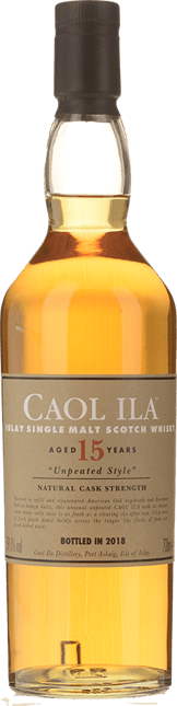 CAOL ILA 15 Year Old Unpeated Single Malt Scotch Whisky Dist. 2002 59.1% ABV, Islay NV