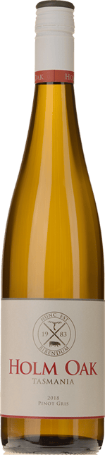 HOLM OAK WINERY Pinot Gris, Tamar Valley 2018
