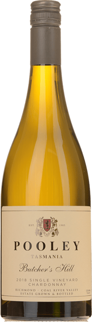 POOLEY Butcher's Hill Chardonnay, Northern Tasmania 2018