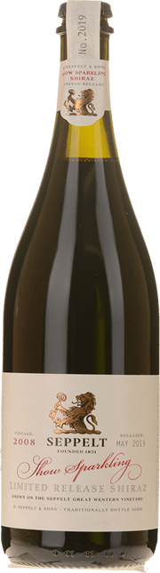 SEPPELT Show Sparkling Limited Release Shiraz, Great Western 2008