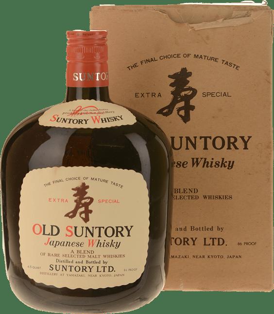 SUNTORY Extra Special Old Suntory Whiskey 43% ABV Whisky, Japan NV